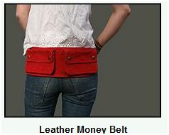 leahter money belt